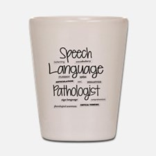 Cute Speech therapy Shot Glass
