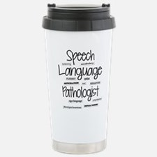 Funny Speech language pathologist Travel Mug