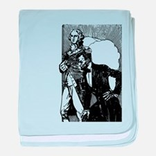 abraham lincoln george washington baby blanket