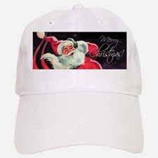 Santa Claus Rocket Baseball Baseball Cap