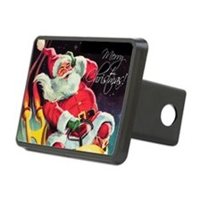 Santa Claus Rocket Hitch Cover