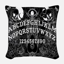 Out The Grave Woven Throw Pillow