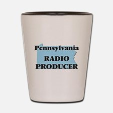 Pennsylvania Radio Producer Shot Glass