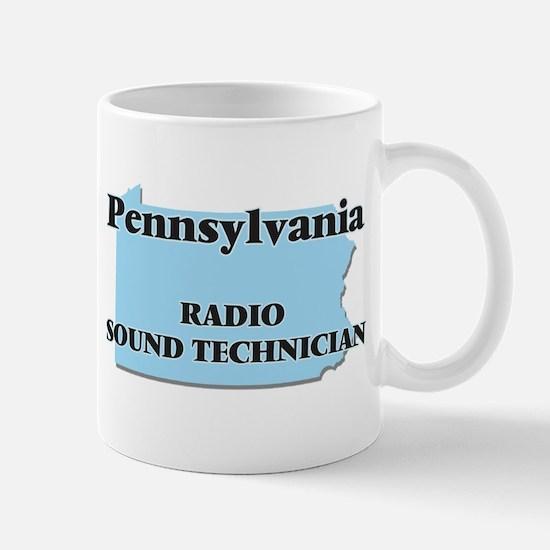 Pennsylvania Radio Sound Technician Mugs
