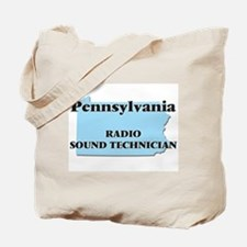 Pennsylvania Radio Sound Technician Tote Bag