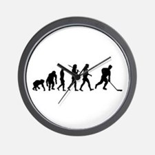 Evolution of Ice Hockey Wall Clock