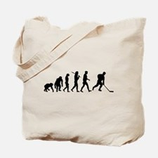 Evolution Of Ice Hockey Tote Bag