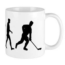 Evolution of Ice Hockey Mug