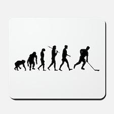 Evolution of Ice Hockey Mousepad