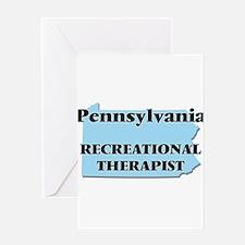 Pennsylvania Recreational Therapist Greeting Cards