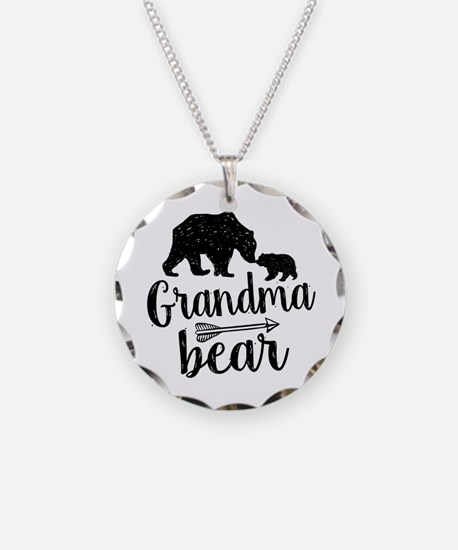 Grandma Bear Necklace