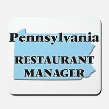 Pennsylvania Restaurant Manager Mousepad