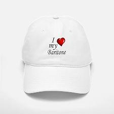 I Love My Baritone Baseball Baseball Baseball Cap