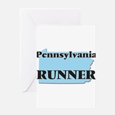 Pennsylvania Runner Greeting Cards