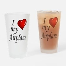 Cute Cessna Drinking Glass