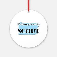 Pennsylvania Scout Round Ornament