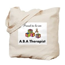 Funny Aba autism Tote Bag