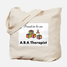 Cute Autism aba Tote Bag