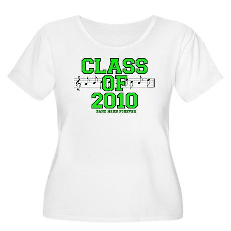 Class of 2010 Women's Plus Size Scoop Neck T-Shirt