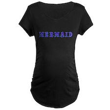 Mermaid, girls, princess, fantas Maternity T-Shirt