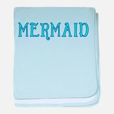 Mermaid, girls, princess, fantasy, sa baby blanket