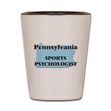 Pennsylvania Sports Psychologist Shot Glass