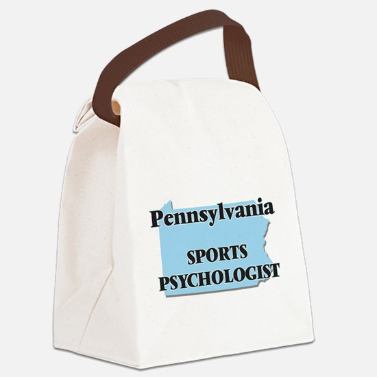 Pennsylvania Sports Psychologist Canvas Lunch Bag