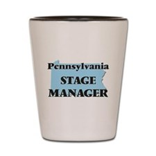 Pennsylvania Stage Manager Shot Glass