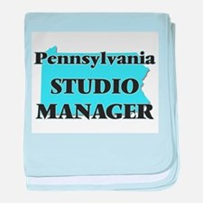 Pennsylvania Studio Manager baby blanket