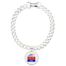FEEL THE BERN Charm Bracelet, One Charm