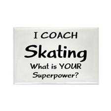 skating coach Rectangle Magnet