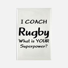 rugby coach Rectangle Magnet