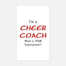 cheer coach Decal