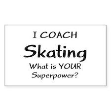 skating coach Decal