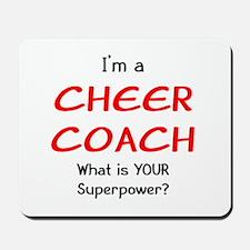 cheer coach Mousepad
