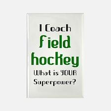 coach field hockey Rectangle Magnet