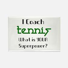 coach tennis Rectangle Magnet