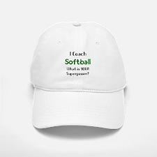 coach softball Baseball Baseball Cap
