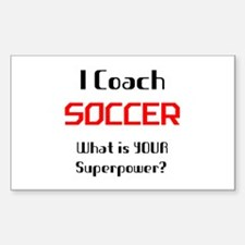 coach soccer Decal