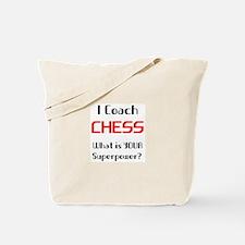 coach chess Tote Bag