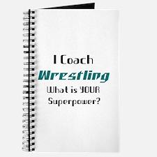 coach wrestling Journal