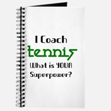coach tennis Journal