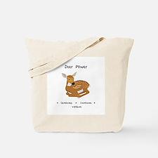 Deer Totem Power Gifts Tote Bag