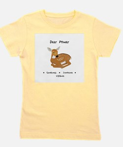 Deer Totem Power Gifts Girl's Tee