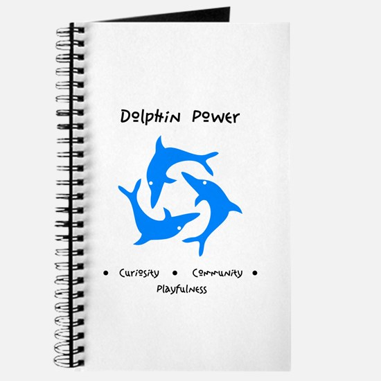 Dolphin Totem Power Gifts Journal