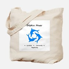 Dolphin Totem Power Gifts Tote Bag