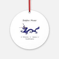 Dragon Animal Medicine Gifts Round Ornament