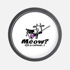 Meow? I'm so confused ~ When  Wall Clock