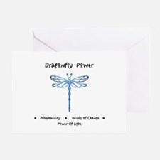 Dragonfly Light Animal Medicine Gifts Greeting Car