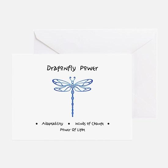 Dragonfly Light Animal Medicine Gifts Greeting Car